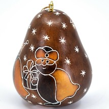 Handcrafted Carved Gourd 3 Kings Nativity Gifts Christmas Ornament Made in Peru image 2