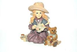 Yesterdays Child Boyds Bears Dollstone Whitney w/Wilson Tea Party #3523 box - $15.79