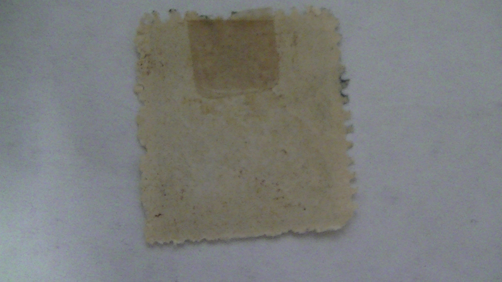 Dark Brown Vintage USA Used 4 Cent Stamp