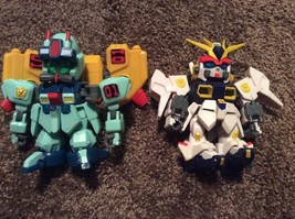 "Bandai SD Gundam 4.5"" Figure Toy Lot Of 2 2003 - $17.81"
