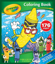 New! Crayola Coloring Activity Book, Gift for Kids, Ages 3, 4, 5, 6, 7 - $27.00