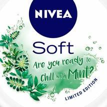 NIVEA Soft Light Moisturizer Cream Chilled Mint With Vitamin E & Jojoba Oil image 6