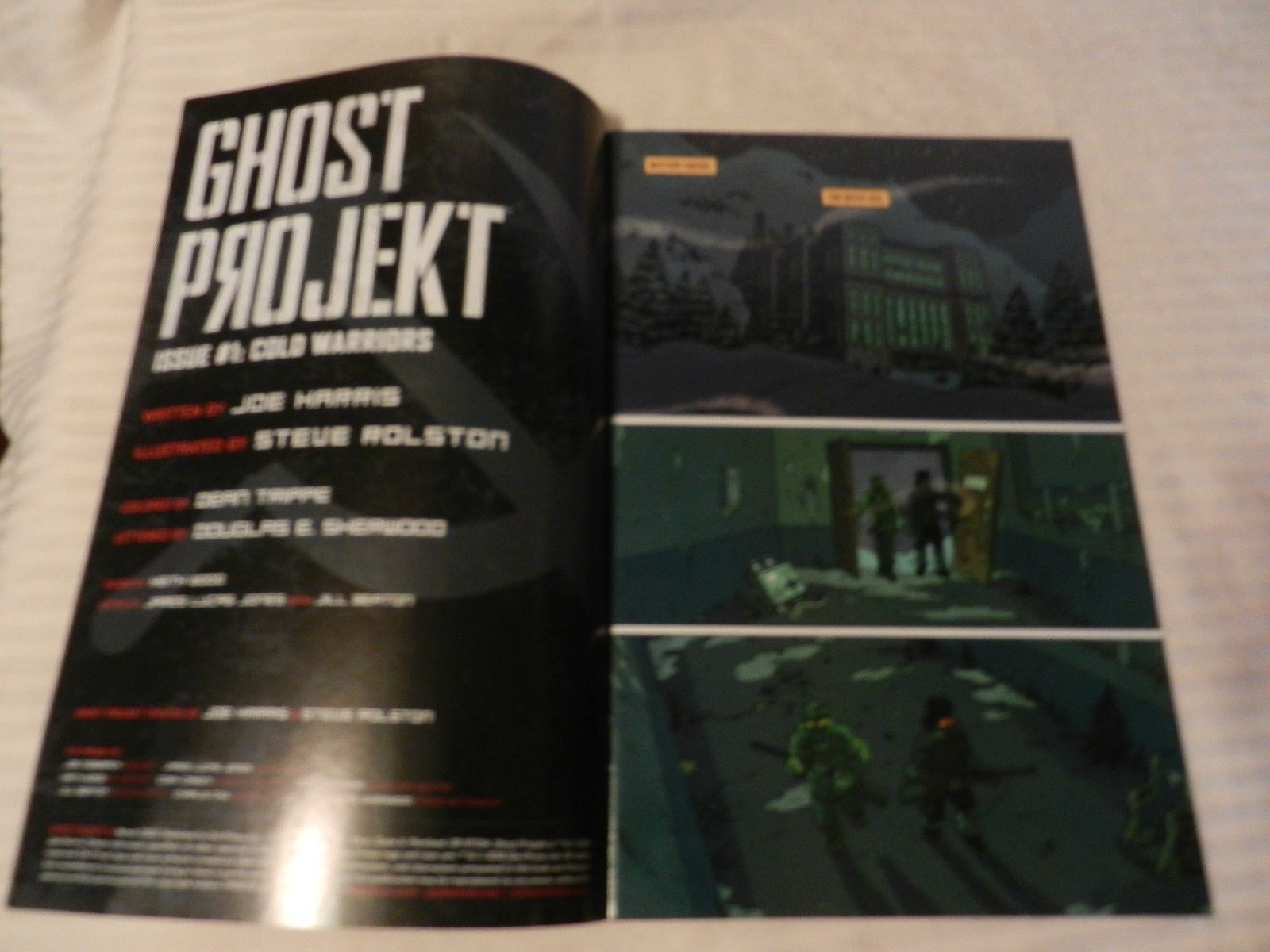 Ghost Projekt Cold Warriors Issue 1 of 5 March 2010 ONI Press Comics