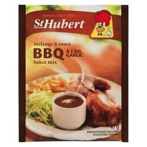 Big 12 PACK St Hubert BBQ Garlic Sauce Gravy Mix 47g Each FRESH AND DELI... - $26.48
