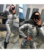 Winter Customized Jumpsuit Sport Ski Suit Set Romper Warm Playsuit Fur S... - $289.00