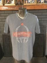 Adidas T-Shirt Aeroknit Climacool Miami's Hurricanes Men's L - $5.99
