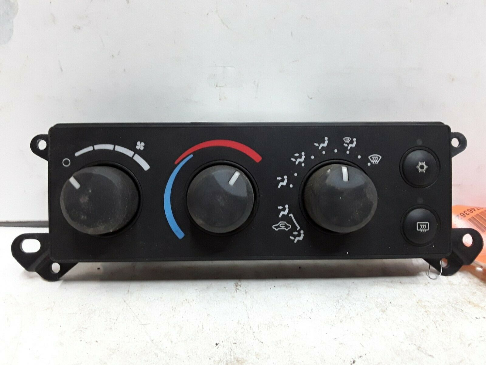 06 07 dodge ram mitsubishi raider heater ac control single. Black Bedroom Furniture Sets. Home Design Ideas