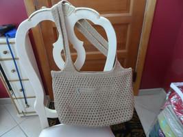 Tan woven handbag from The Sak - $9.99