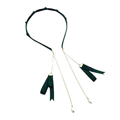 2 Pcs Fashion Headbands with Pendant Earrings&Tassels Beautiful Hair Accessories