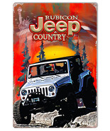 Rubicon Country Jeep Reproduction Sign By Artist Phil Hamilton 12x18 - $23.76