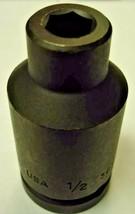 """Allen 36160 1/2"""" 3/4"""" Drive Deep Impact Socket USA - $7.92"""