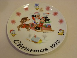Schmid Walt Disney Limited Edition 1st in Series 1973 Christmas Plate Ra... - $39.98