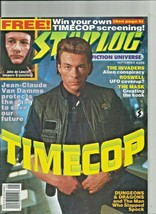 2 issues of STARLOG  #206 and #208  Puppet Master Timecop - $5.44