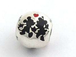 Auténtico Pandora Disney Mickey y Minnie Siempre Charm, 925 Plata 791700... - $49.87