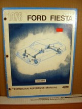 Two Technician Reference Manuals 1978 Ford Fiesta Chassis + Body/Electrical - $11.69