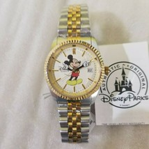 Disney  Vintage Mickey silver and gold Watch with date -NWT - $123.74