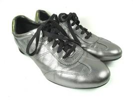 Cole Haan NikeAir Womens Sneakers Size 7.5 B Silver & Black - $27.60