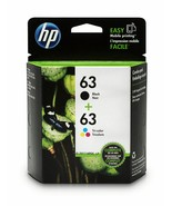 HP 63 Black/TriColor L0R46AN Ink Cartridges 2pack For K9V77A,K9H51A,K4T97A - $59.85