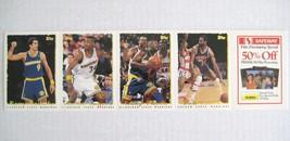 1995 TOPPS Warriors NBA Basketball Card Strips Seikaly Rogers Pierce Lanier - $9.89