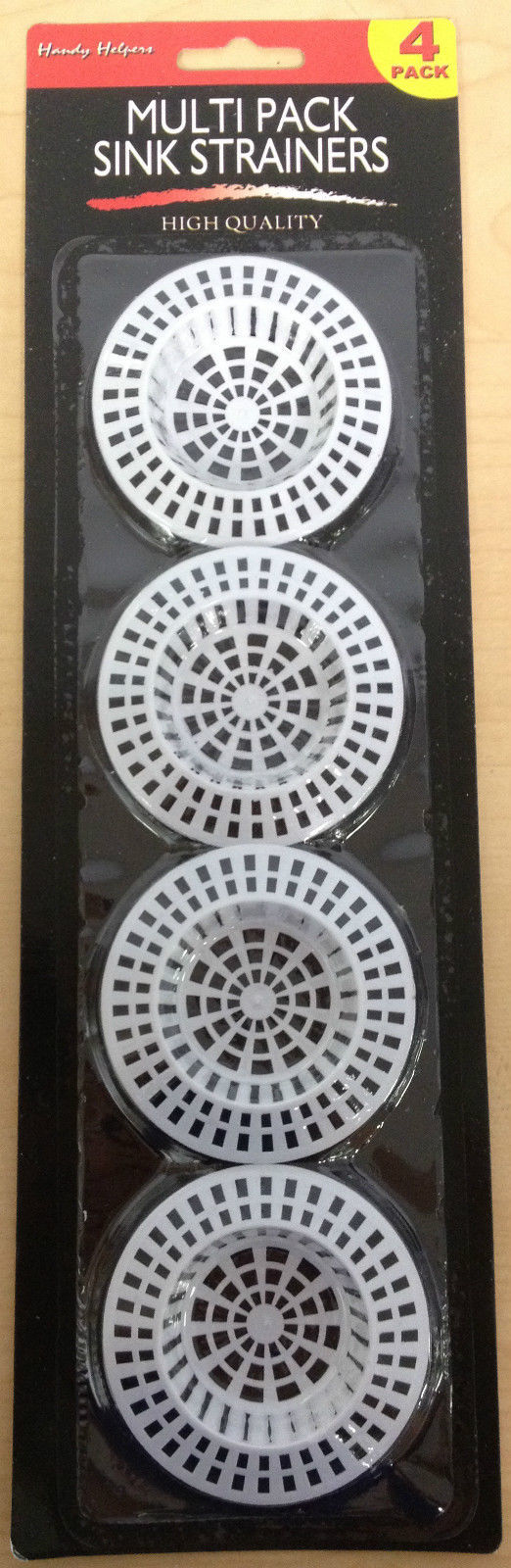 "Primary image for 4 Pack 2 3/4"" Plastic Sink Strainers for Bathtubs and Sinks - Prevents Clogs"