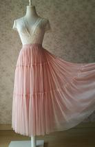 ROYAL BLUE High Waist Tulle Skirt Bridal Bridesmaid Skirt Layer Full Tulle Skirt image 12