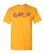 Lebron James LA Los Angeles Basketball Men's Tee Shirt 1855A - $8.87+