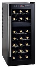 Spt Dual-Zone Thermo-Electric Wine Cooler with Heating, 21-Bottles - $365.99