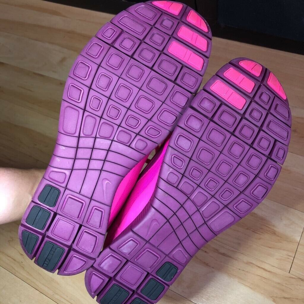 Nike Womens LiveStrong Sneakers Pink Purple Lace Up Athletic Shoe US 11/EUR 43