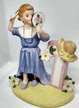 VINTAGE 1984 BIRTHDAY COLLECTIBLES TREASURE MASTERS #7 BRUNETTE GIRL - $15.79