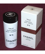 CHANEL NO 5 TALC PERFUMED BATH Body Powder 6oz/ 170g SHAKER Bottle NIB H... - $184.29