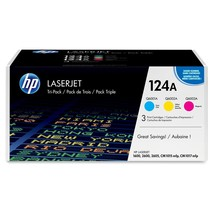 HP 124A Original Toner Cartridge - Laser - 2000 Pages - Assorted - $212.84
