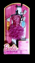 Barbie Pink Sparkly Shimmer Fashion Evening Gown Dress & Shoes - $20.00