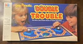 Milton Bradley PopOMatic Double Trouble Game 100% COMPLETE 1987 - Nice Condition - $25.25