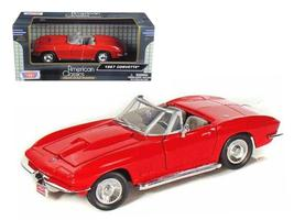 1967 Chevrolet Corvette Convertible 1:24 Diecast Car Model by Motormax - $33.46