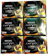 Nescafe Cafe Viet Instant Milky Iced Coffee 14 Sachets x 20 g ( Pack of 6 ) - $56.09