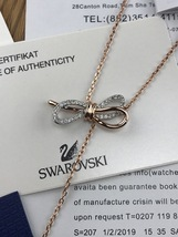 swarovski lifelong bow Y necklace - $70.00