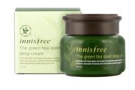 Innisfree The Green Tea Seed Deep Cream 50ml KBeauty Korea Cosmetic - $24.98