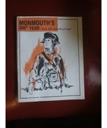 Monmouth's 300 Year Anniversary Booklet 1983 - $0.00