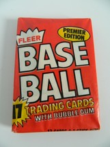 1981 Fleer Baseball Cards Unopened New in Package with Gum - $9.99