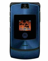 ORIGINAL Motorola RAZR V3i Luxury Blue 100% UNLOCKED Mobile Cell Phone W... - $44.40