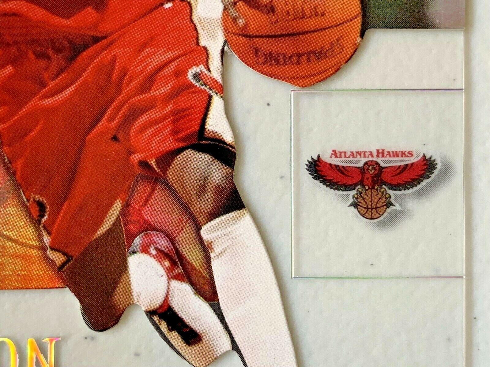 Jason Terry Now/66 #65 Atlanta Hawks Fleer Basketball Card with Hard Case 31G image 5