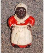 Vintage Aunt Jemima Cast Iron Bank 3 inches Tall - $74.99