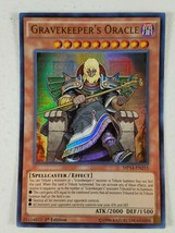 Yu-gi-oh! Trading Card - Gravekeeper's Oracle - MP14-EN215 - Ultra Rare - 1st Ed - $3.50