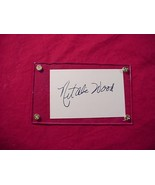 NATALIE WOOD Autographed Signed Signature Cut w/COA - 30749 - $95.00