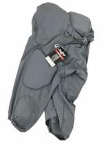 Rawlings Men's M Integrated Padded Football Pant Grey 7 Pad Protection - $29.69