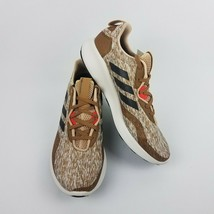 adidas Mens Purebounce + Street Raw Desert Brown Tan Shoes BC1039 Size 10.5 - $89.95