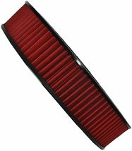 """HIGH FLOW WASHABLE & REUSABLE ROUND AIR FILTER ELEMENT REPLACEMENT 14"""" X 3"""" RED image 9"""