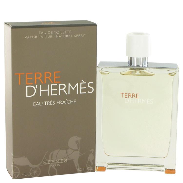 Hermes terre d hermes eau tres fraiche 4.2 oz cologne