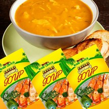 3 Jamaican Home Choice Pepper Shrimps Soup Spicy Soup Mix 45g  Free Ship... - $9.49