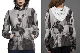 Marilyn Manson Cute Cat Hoodie Women - $45.99+